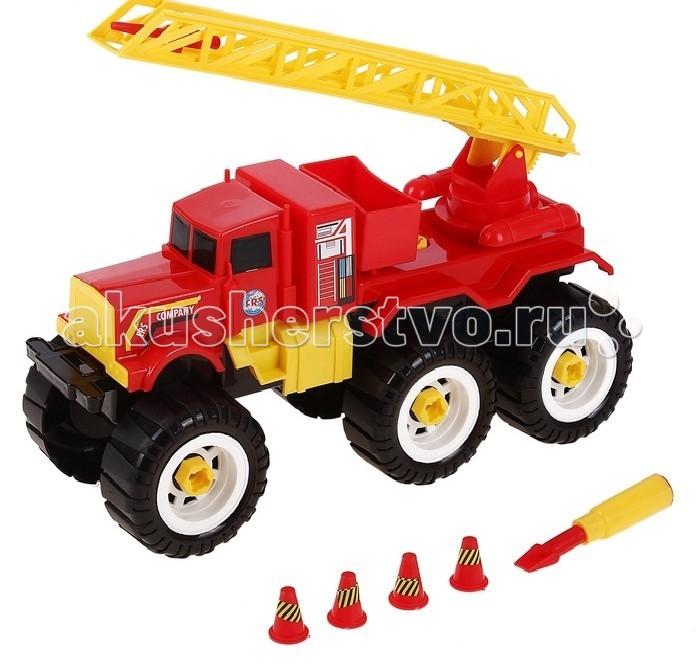 ERS Пожарная машина с ключомПожарная машина с ключомERS Пожарная машина с ключом подарит массу радости и удовольствия Вашему ребёнку.  Любая современная игрушка — это больше, чем просто способ увлечь малыша. С их помощью дети познают окружающий мир, осваивают социальные роли, привыкают к ответственности, а занятия и их развитие будут проходить ярче и интереснее.   Игрушка сделана из яркого разноцветного пластика и понравиться любому малышу.<br>