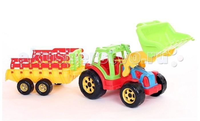 FCH Трактор Raider-Копалка с тележкой 85 смТрактор Raider-Копалка с тележкой 85 смFCH Трактор Raider-Копалка с тележкой 85 см подарит массу радости и удовольствия Вашему ребёнку.  Любая современная игрушка — это больше, чем просто способ увлечь малыша. С их помощью дети познают окружающий мир, осваивают социальные роли, привыкают к ответственности, а занятия и их развитие будут проходить ярче и интереснее.   Игрушка сделана из яркого разноцветного пластика и понравиться любому малышу.<br>