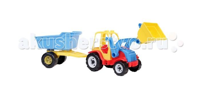 FCH Трактор Мастер с ковшом и тележкойТрактор Мастер с ковшом и тележкойFCH Трактор Мастер с ковшом и тележкой подарит массу радости и удовольствия Вашему ребёнку.  Любая современная игрушка — это больше, чем просто способ увлечь малыша. С их помощью дети познают окружающий мир, осваивают социальные роли, привыкают к ответственности, а занятия и их развитие будут проходить ярче и интереснее.   Игрушка сделана из яркого разноцветного пластика и понравиться любому малышу.<br>
