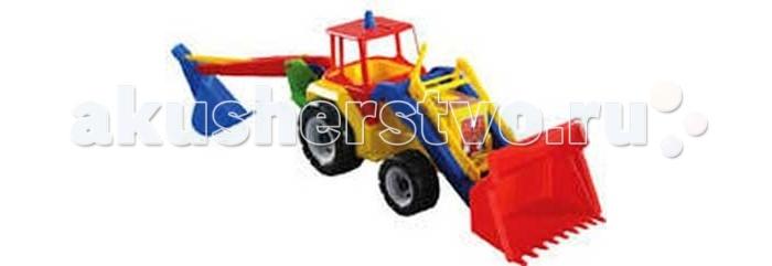 FCH Трактор Титан-Terex с 2 ковшамиТрактор Титан-Terex с 2 ковшамиFCH Трактор Титан-Terex с 2 ковшами подарит массу радости и удовольствия Вашему ребёнку.  Любая современная игрушка — это больше, чем просто способ увлечь малыша. С их помощью дети познают окружающий мир, осваивают социальные роли, привыкают к ответственности, а занятия и их развитие будут проходить ярче и интереснее.   Игрушка сделана из яркого разноцветного пластика и понравиться любому малышу.<br>