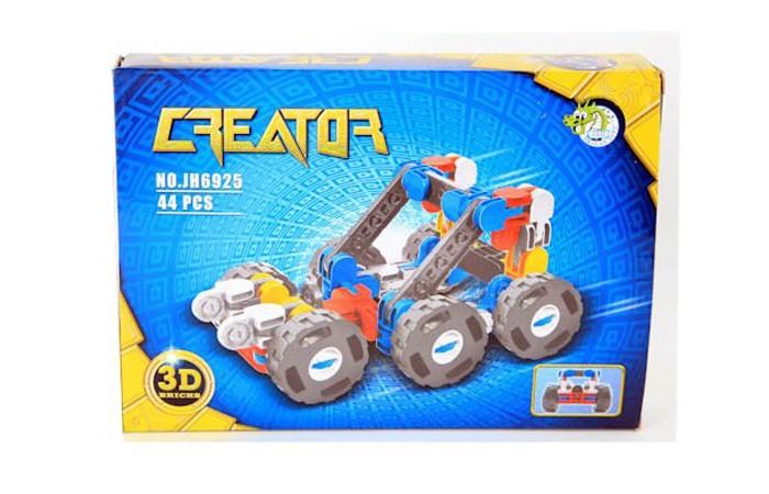 Конструктор Dragon Toys Страйп Багги JH6925 (44 элементов)Toys Страйп Багги JH6925 (44 элементов)Конструктор Dragon Toys Страйп Багги JH6925 (44 элементов). Конструктор - отличная игрушка для детей любого возраста. Он учит быть усидчивым и концентрироваться на достижение цели, развивает пространственное и логическое мышление, дает ребенку возможность анализировать и проявить творческий подход.  Состоит из 44 деталей.<br>