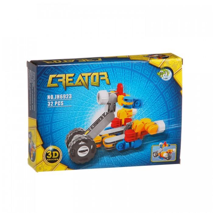 Конструктор Dragon Toys Страйп Мотоцикл JH6923 (32 элемента)Toys Страйп Мотоцикл JH6923 (32 элемента)Конструктор Dragon Toys Страйп Мотоцикл JH6923 (32 элемента). Конструктор - отличная игрушка для детей любого возраста. Он учит быть усидчивым и концентрироваться на достижение цели, развивает пространственное и логическое мышление, дает ребенку возможность анализировать и проявить творческий подход.  Состоит из 32 деталей.<br>