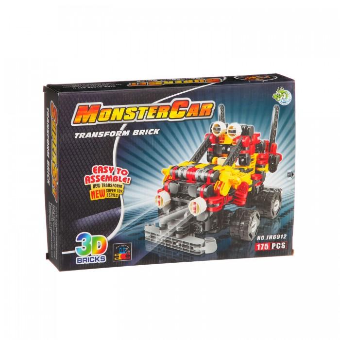 Конструктор Dragon Toys Страйп Джип JH6912 (175 элементов)Toys Страйп Джип JH6912 (175 элементов)Конструктор Dragon Toys Страйп Джип JH6912 (175 элементов). Конструктор - отличная игрушка для детей любого возраста. Он учит быть усидчивым и концентрироваться на достижение цели, развивает пространственное и логическое мышление, дает ребенку возможность анализировать и проявить творческий подход.  Состоит из 175 деталей.<br>