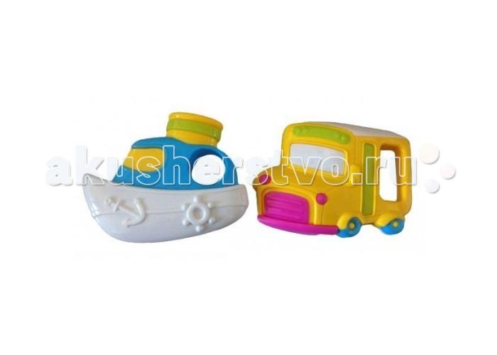 Погремушка Жирафики Набор Автобус и кораблик