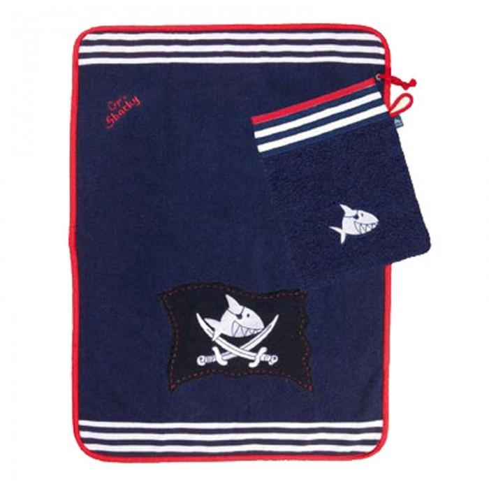 Spiegelburg Полотенце с варежкой Capt'n Sharky