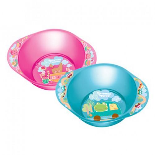 Посуда Tommee Tippee Глубокая декорированная тарелочка