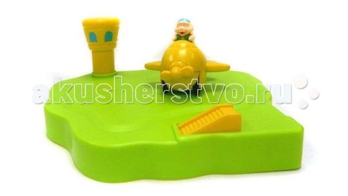 Жирафики Заводная игрушка для ванной АэродромЗаводная игрушка для ванной АэродромЖирафики Заводная игрушка для ванной Аэродром может сделать процесс купания для ребенка веселым и увлекательным.  Набор изготовлен из высококачественных материалов, которые совершенно безвредны, не имеют запаха и искусственных красителей.  Подойдет для игры в помещении и в воде.<br>