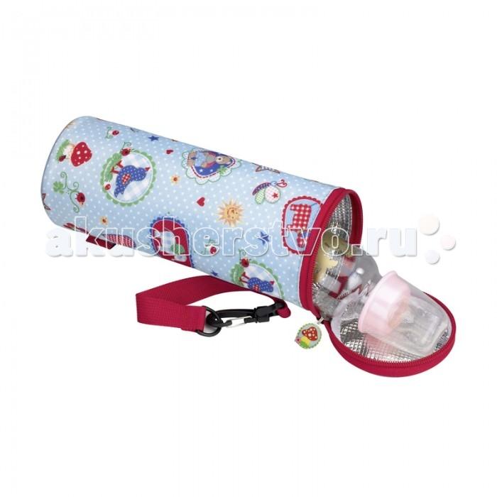 Spiegelburg Термос для бутылочки Baby GluckТермос для бутылочки Baby GluckSpiegelburg Термос для бутылочки Baby Gluck.  Сумка-термос для бутылочки Baby Gluck очень лёгкая и удобная. Сохраняет тепло и позволит покормить малыша в дороге или на прогулке. Также защитит от падения стеклянную бутылочку.<br>