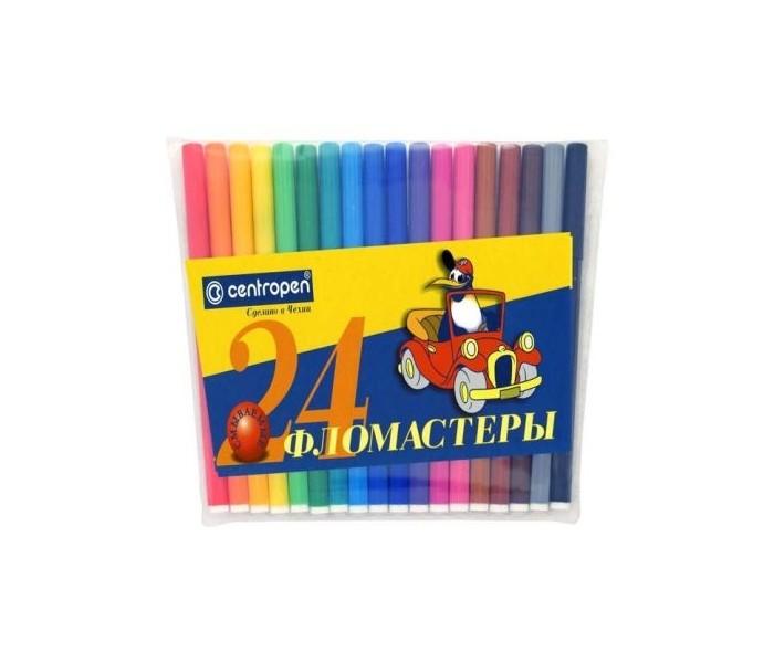 Фломастеры Centropen Набор Пингвины 24 цвета