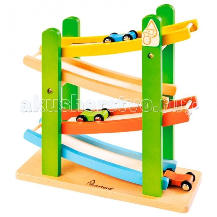 Деревянная игрушка Mertens Автотрек 70415