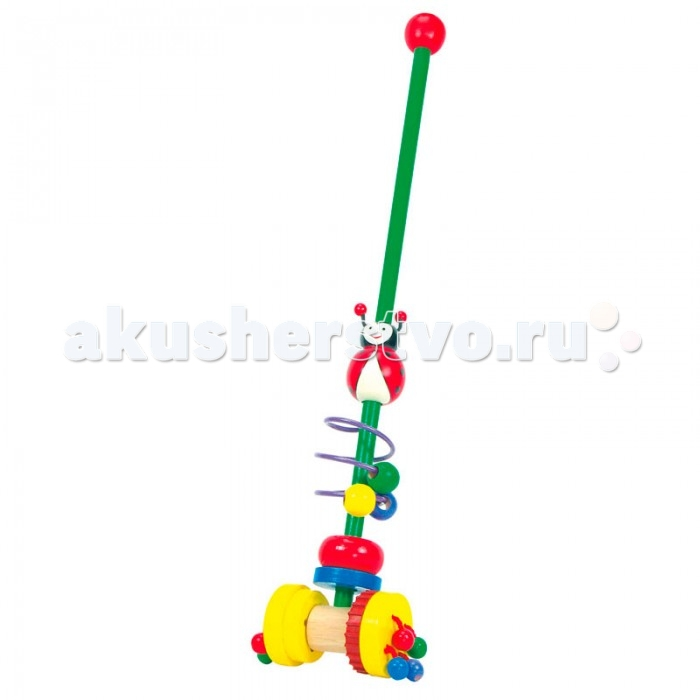Каталка-игрушка Mertens Каталка Божья коровка