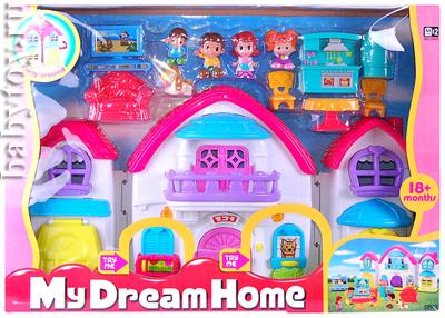 Кукольные домики Keenway Набор Дом моей мечты