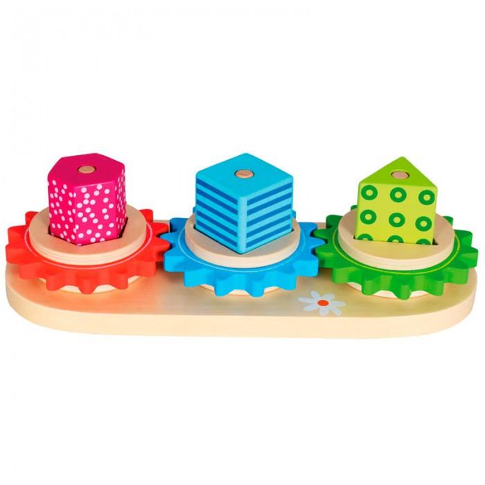 Конструктор Mertens Конструктор ТриоКонструктор ТриоBino Конструктор Трио.  Планшет Замкнутый круг трио визуально похоже на детскую пирамидку, но более увлекательно. Состоит из трех своеобразных палочек, на которые нанизываются фигуры разные по цвету и форме. Игрушка научит малыша последовательности действий. В комплекте 7 деталей.<br>