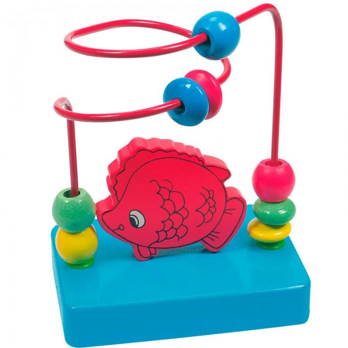 Деревянная игрушка Mertens Лабиринт РыбкаЛабиринт РыбкаBino Лабиринт Рыбка.  Передвигая разноцветные бусинки по лабиринту из толстой проволоки, ребенок тренирует внимание, усидчивость, мелкую моторику рук и координацию движений. Игру можно сопроводить интересным сюжетом.   В воображении ребенка бусинки могут превратиться в машины на горной дороге, космические корабли, преодолевающие сложную трассу, птичек, летающих в небе, и т.д.<br>