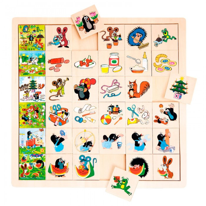 Mertens Игра Маленький крот 13728
