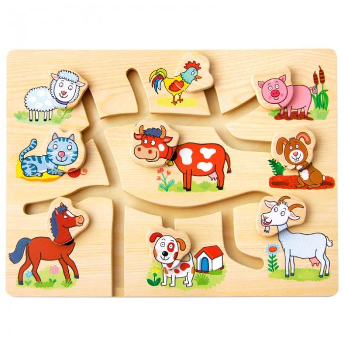 Mertens Игра Подбери головы животным Ферма
