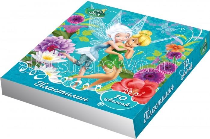 Росмэн Пластилин Disney Феи 10 цветов