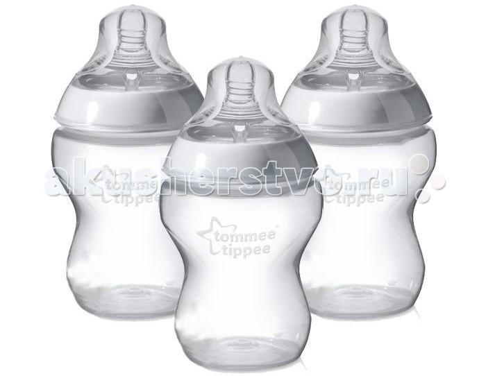 Бутылочки Tommee Tippee 3 шт. 260 мл
