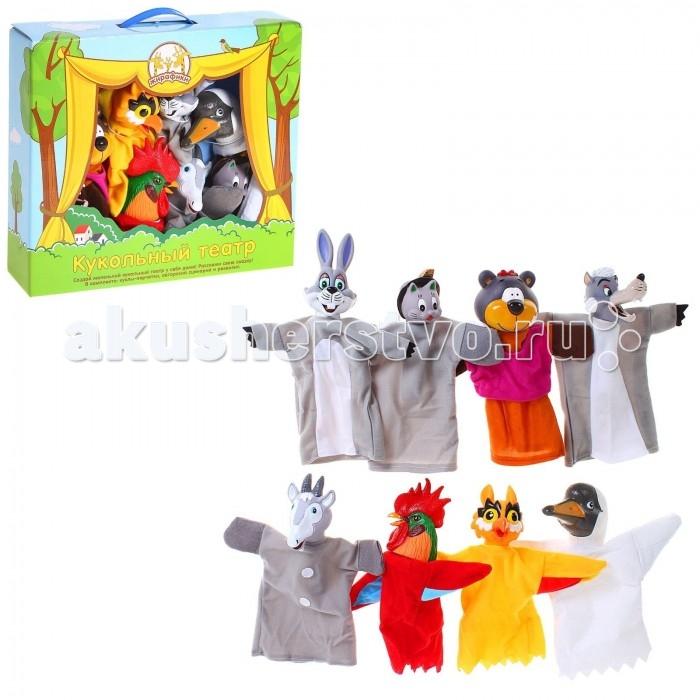Жирафики Кукольный Театр Потешки (8 кукол)