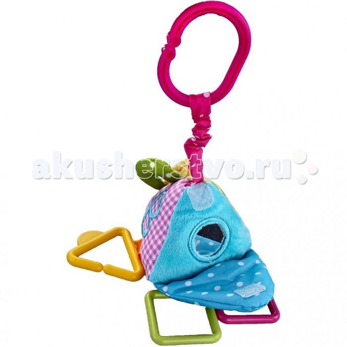 Подвесная игрушка Жирафики Треугольник с погремушкой