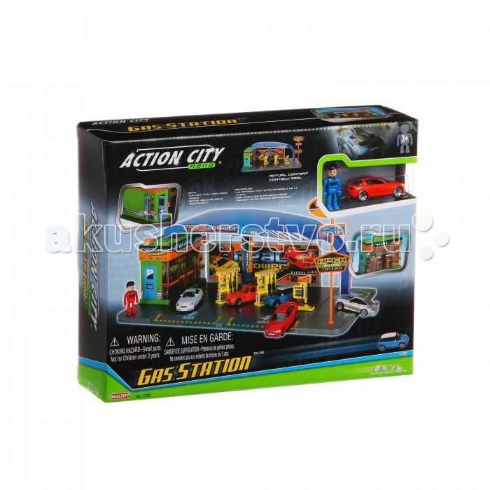 RealToy Игровой набор Автозаправочная станция 17201
