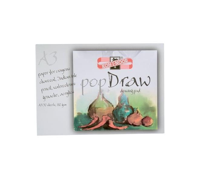 Koh-i-Noor Папка для рисования Pop draw A3 30 листов