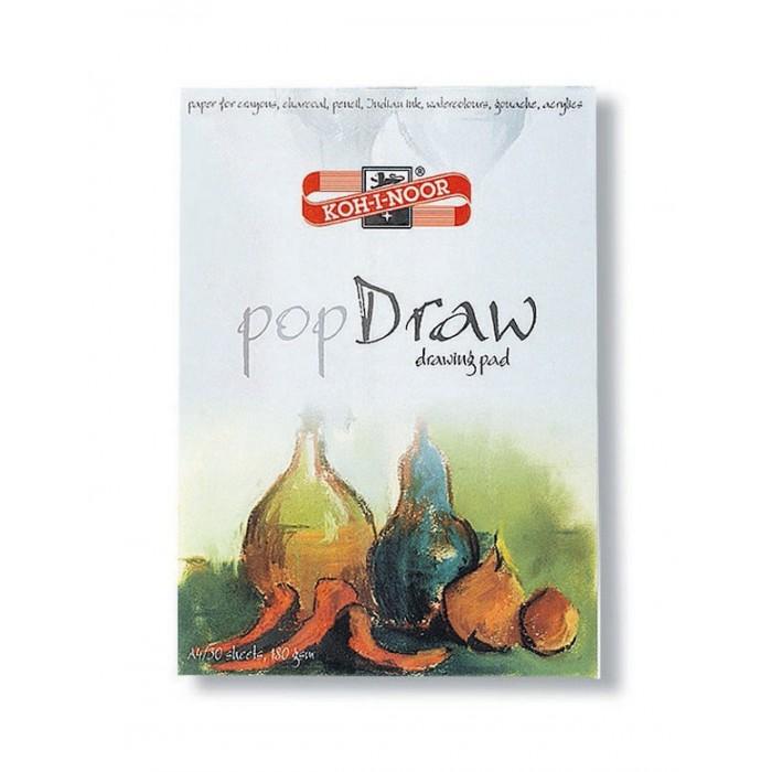 Koh-i-Noor Папка для рисования Pop draw A4 30 листовПапка для рисования Pop draw A4 30 листовKoh-i-Noor Папка для рисования Pop draw A4 30 листов  Плотность: 180 г/м2 Формат: А4 Листов: 30  Срок годности не ограничен.<br>
