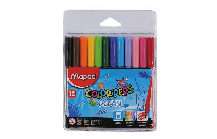 ���������� Maped Color Peps Ocean 12 ������ ���������