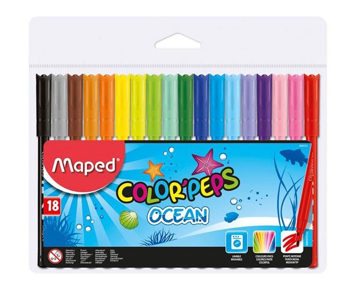 ���������� Maped Color Peps Ocean 18 ������ ���������