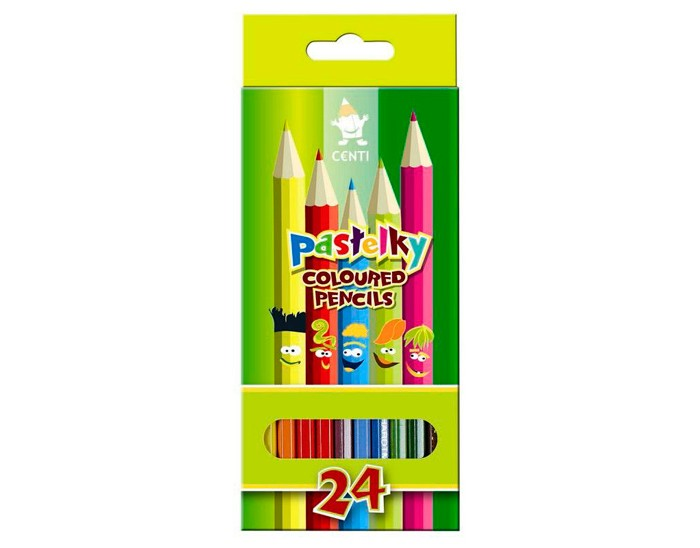 Koh-i-Noor Набор карандашей Pastelky 24 цвета