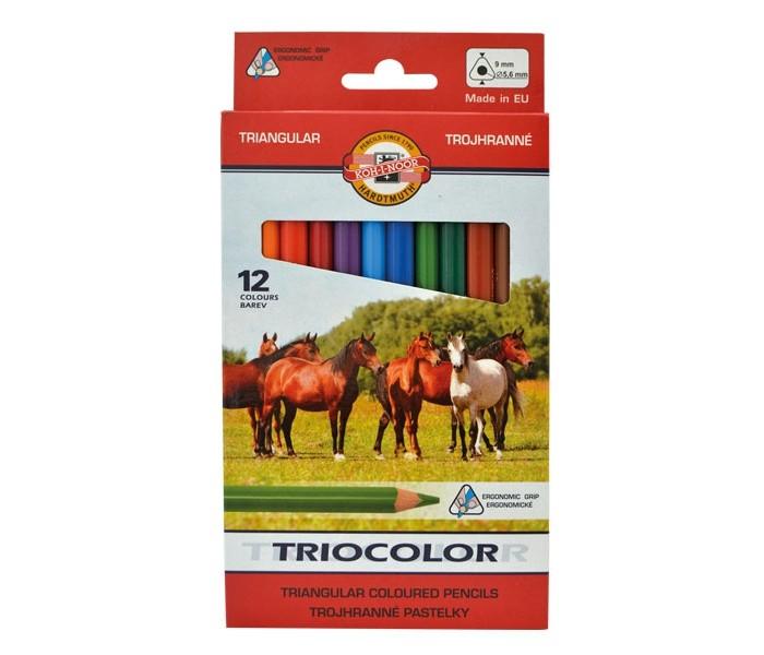 Koh-i-Noor Набор цветных карандашей Jumbo 12 цветов