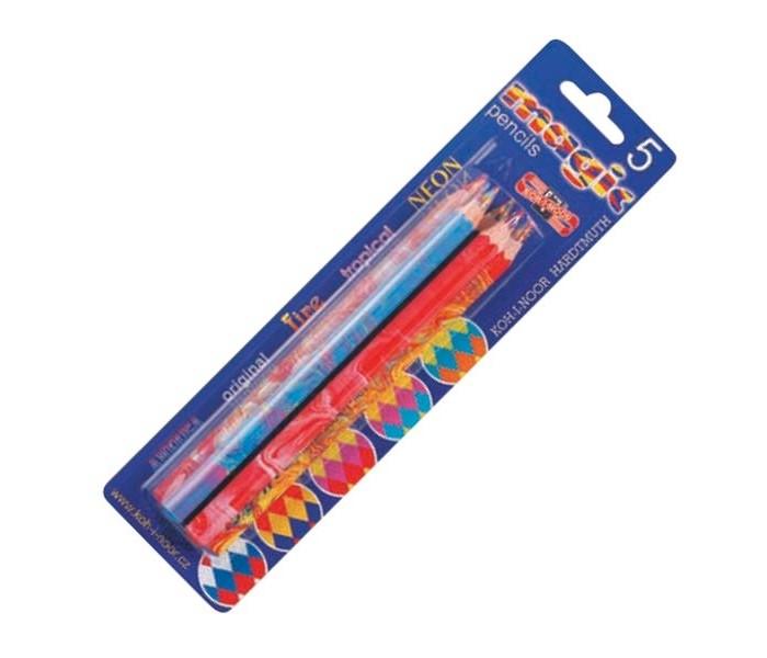 Koh-i-Noor Набор карандашей Magic с многоцветным грифелем 5 шт.
