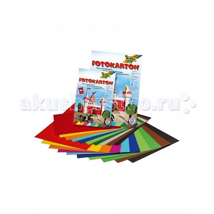 Folia Набор цветного картона 10 листов