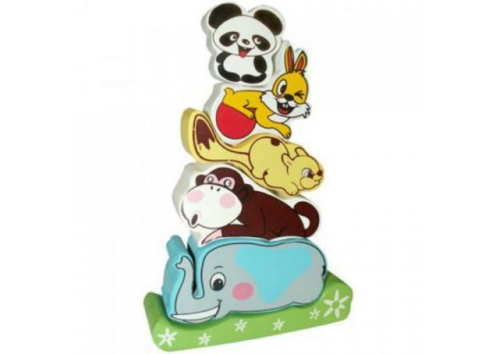 Деревянная игрушка QiQu Wooden Toy Factory Пирамидка СлоникПирамидка СлоникПирамидка Слоник  Яркая деревянная игрушка для малышей. Способствует развитию фантазии, мышления, учит детей усидчивости.   Изготовлена из экологически-чистых материалов и предназначена для малышей и более взрослых детей.<br>
