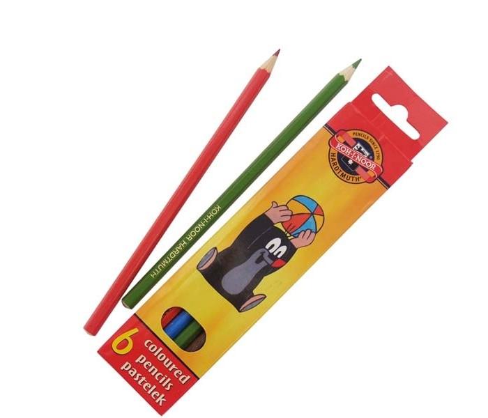 Koh-i-Noor Набор цветных карандашей Крот 6 цветов