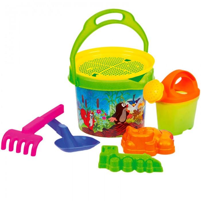 Mertens Набор для песка Маленький крот 83103Набор для песка Маленький крот 83103Bino Набор для песка Маленький крот.  Красочный набор игрушек для песка Bino обязательно понравится ребенку, который любит проводить время в песочнице. Такими игрушками можно играть в песочнице или помогать родителям в саду.<br>