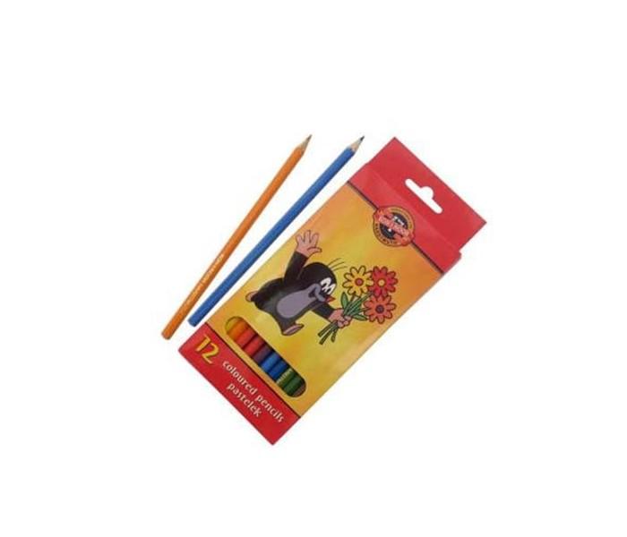 Koh-i-Noor Набор цветных карандашей Крот 12 цветов