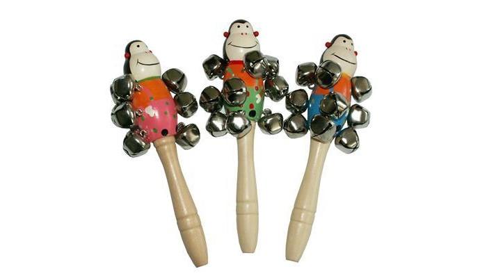Музыкальная игрушка QiQu Wooden Toy Factory Бубенчики Фигуры