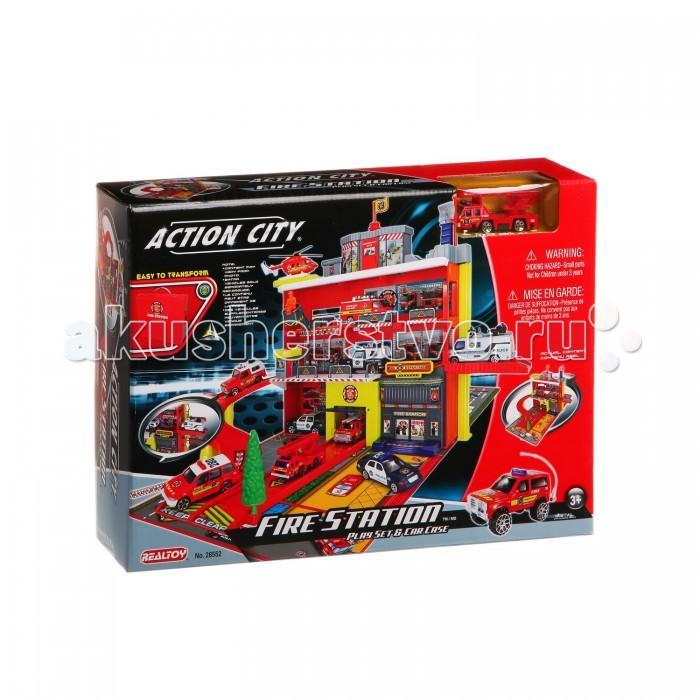 RealToy Игровой набор Пожарная служба 28552