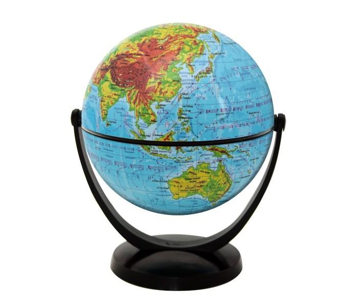Rotondo Глобус физический 10,6 см с экваториальным креплением
