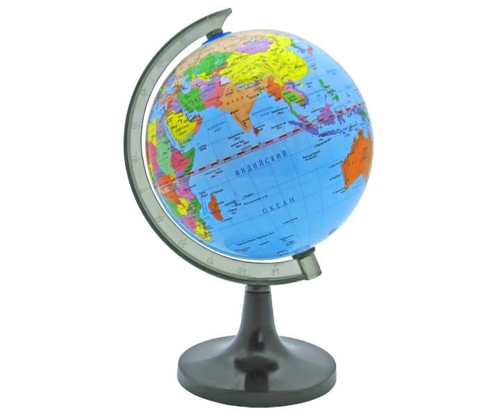 Rotondo Глобус политический 14,2 смГлобус политический 14,2 смRotondo Глобус политический 14,2 см.  Глобус является уменьшенной и практически не искаженной моделью Земли и предназначен для использования в качестве наглядного картографического пособия, а также для украшения интерьера квартир, кабинетов и офисов.   Красочность, повышенная наглядность визуального восприятия взаимосвязей, отображенных на глобусе объектов и явлений, в сочетании с простотой выполнения по нему различных измерений делают глобус доступным широкому кругу потребителей для получения разнообразной познавательной, научной и справочной информации о Земле.<br>