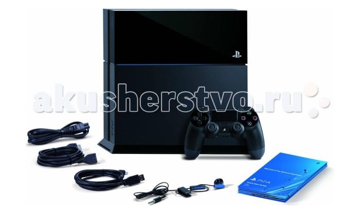 Sony Игровая приставка PlayStation 4 1TB матовая черная + Call of Duty:Black OPS 3 от Акушерство