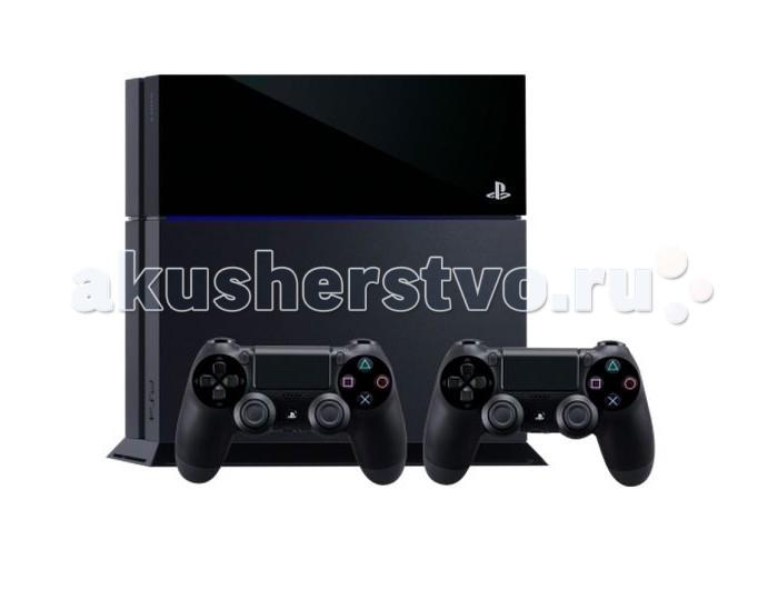 Sony Игровая приставка PlayStation 4 1TB матовая черная + контроллер от Акушерство