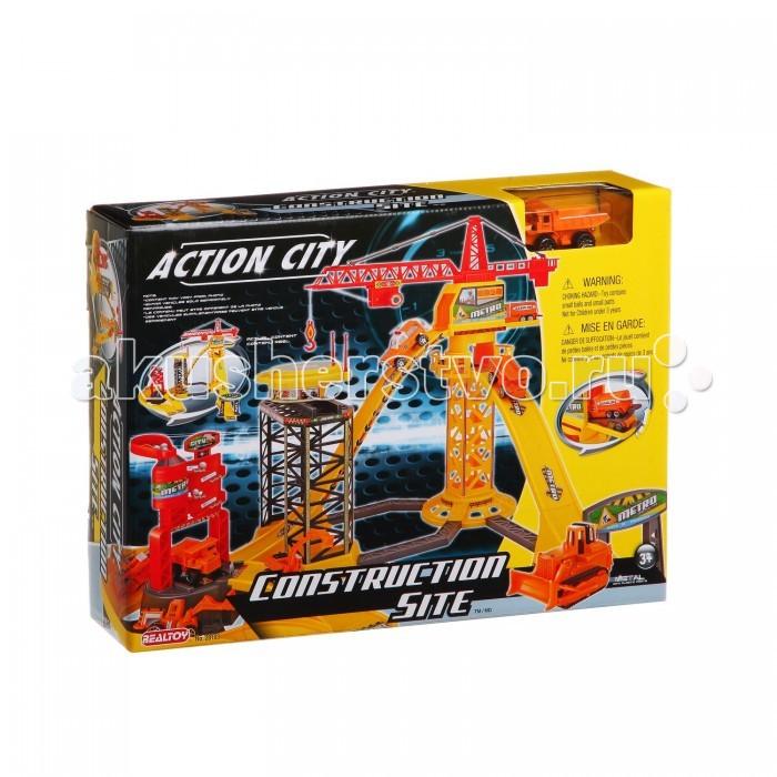 RealToy Игровой набор Стройка 28103