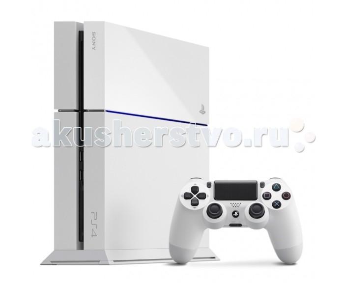 Sony Игровая приставка PlayStation 4 500 Gb белая матовая от Акушерство