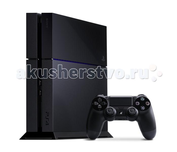 Sony Игровая приставка PlayStation 4 500 Gb черная матовая от Акушерство