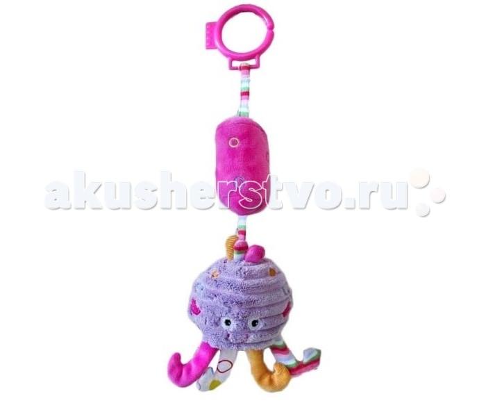Подвесная игрушка Жирафики Осьминожка с колокольчиком