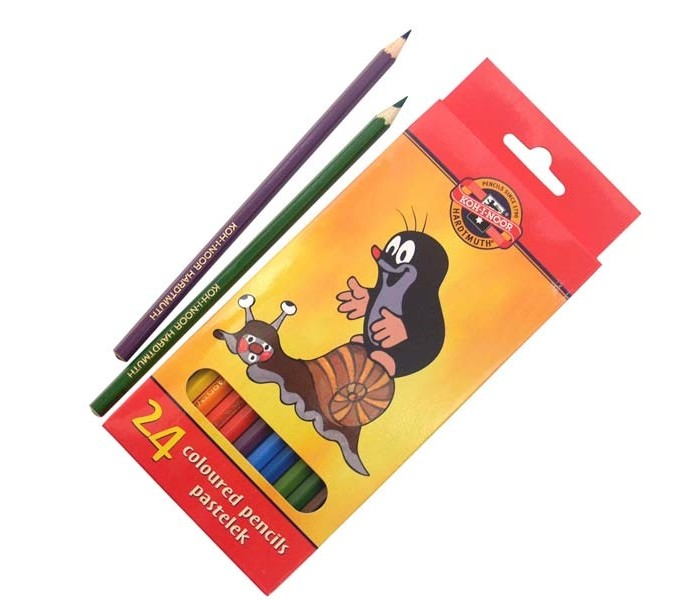 Koh-i-Noor Набор цветных карандашей Крот 24 цвета