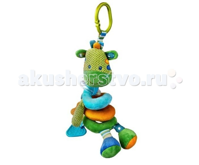 Подвесная игрушка Жирафики Растяжка Зебра