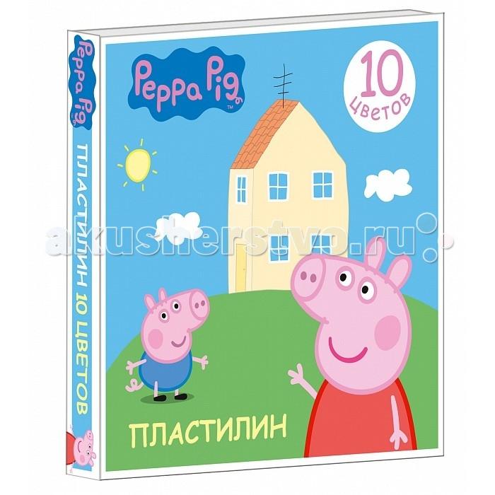 Peppa Pig Пластилин Свинка Пеппа 10 цветов